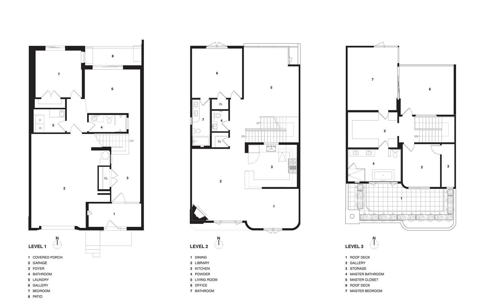 studio vara residential 21st street drawing plan