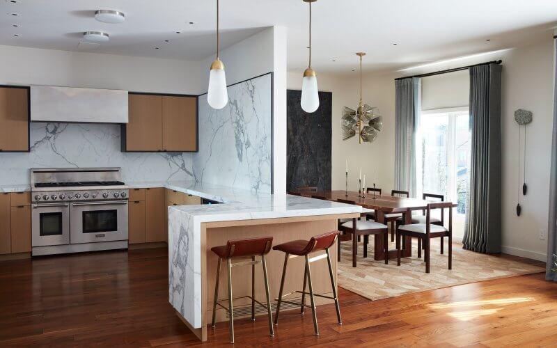studio vara 21st street residential interior kitchen