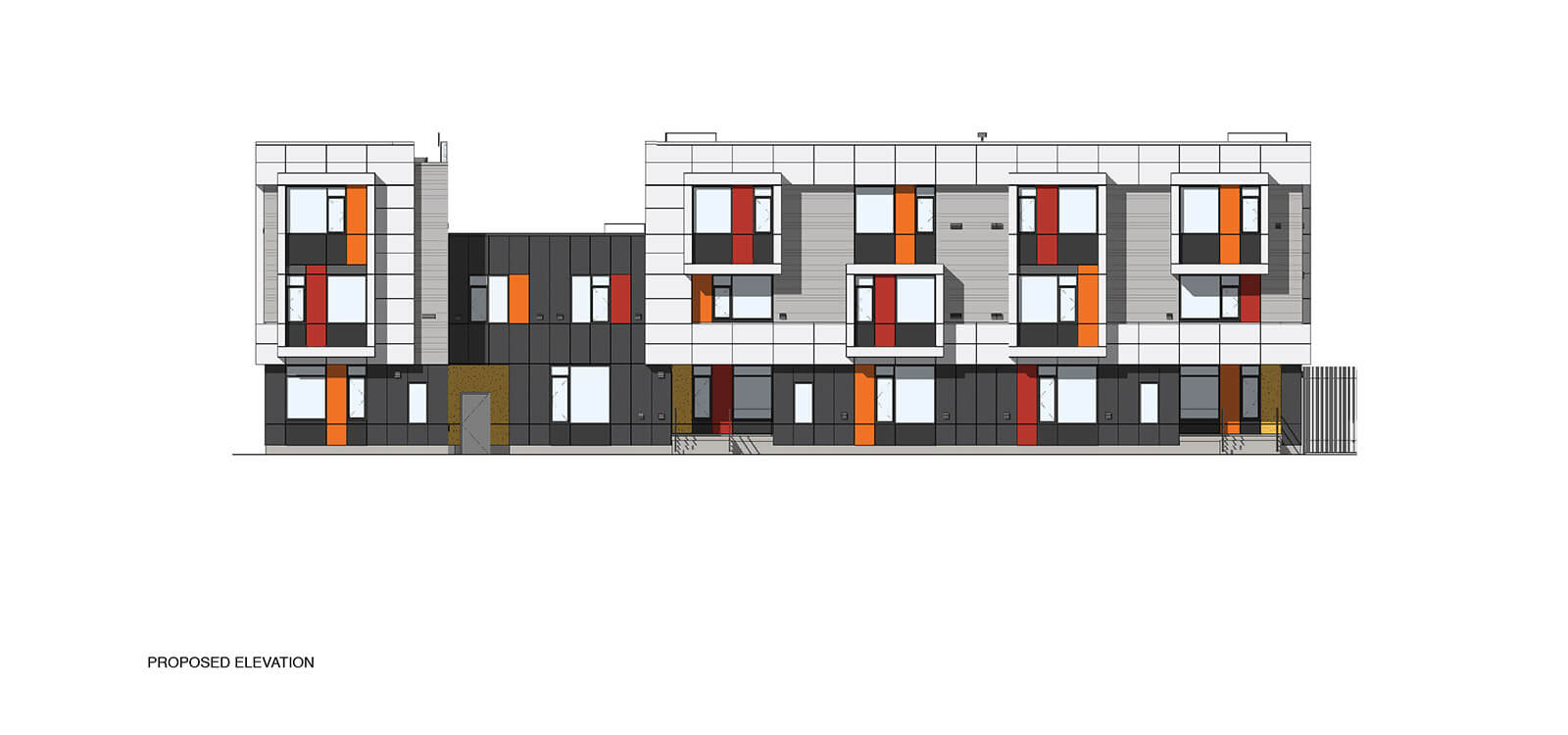 studio vara multifamily 626 mission bay blvd. drawing elevation
