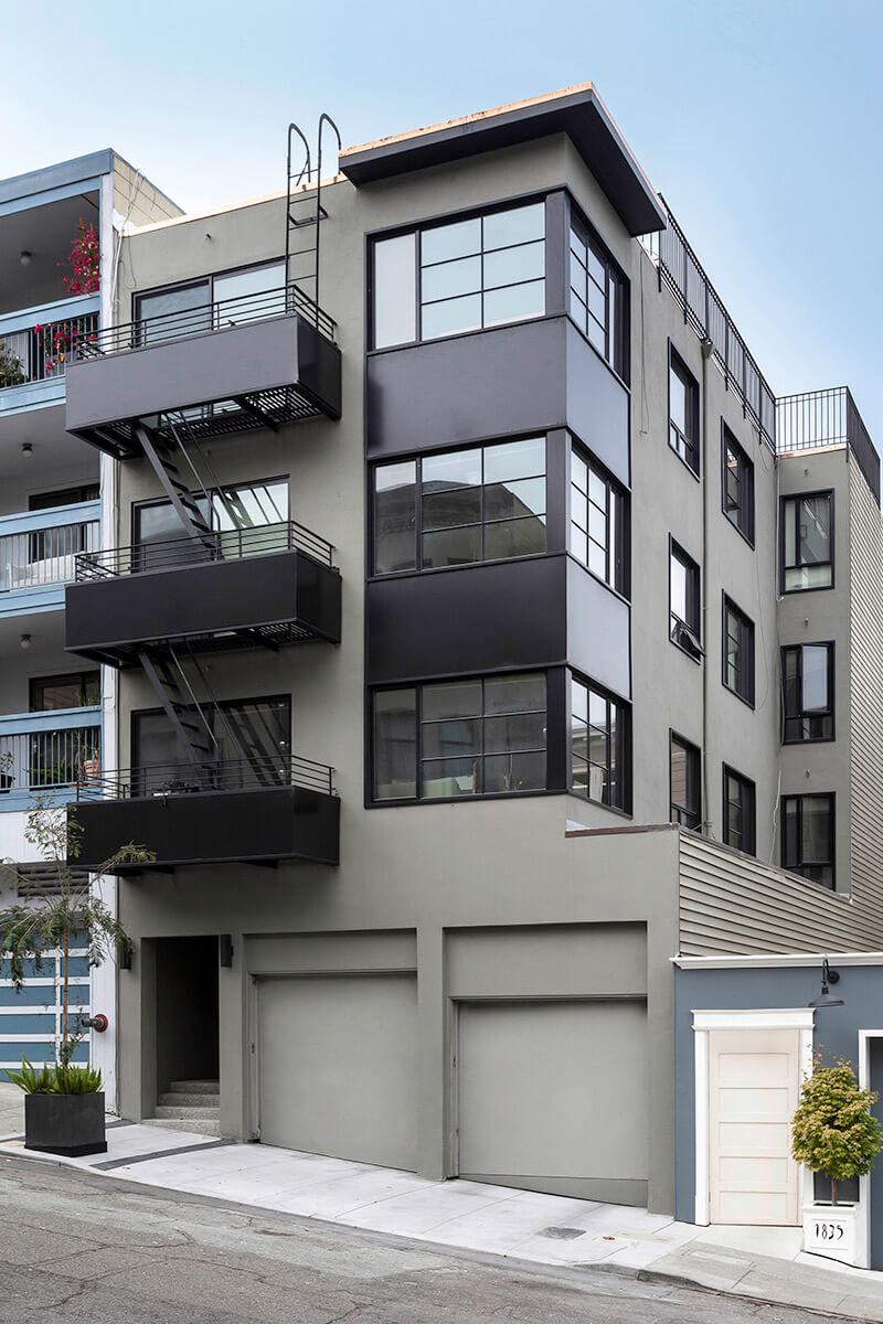 studio vara residential grant exterior building