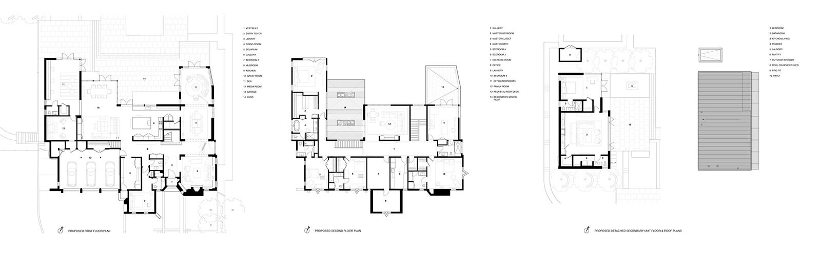 studio vara residential hillsborough drawing plan