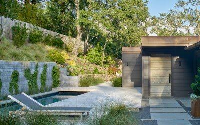 studi vara residential kentfield backyard landscape