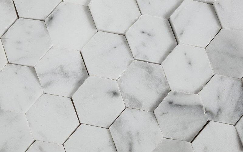 studio vara inspiration materiality pattern hexagon tiles