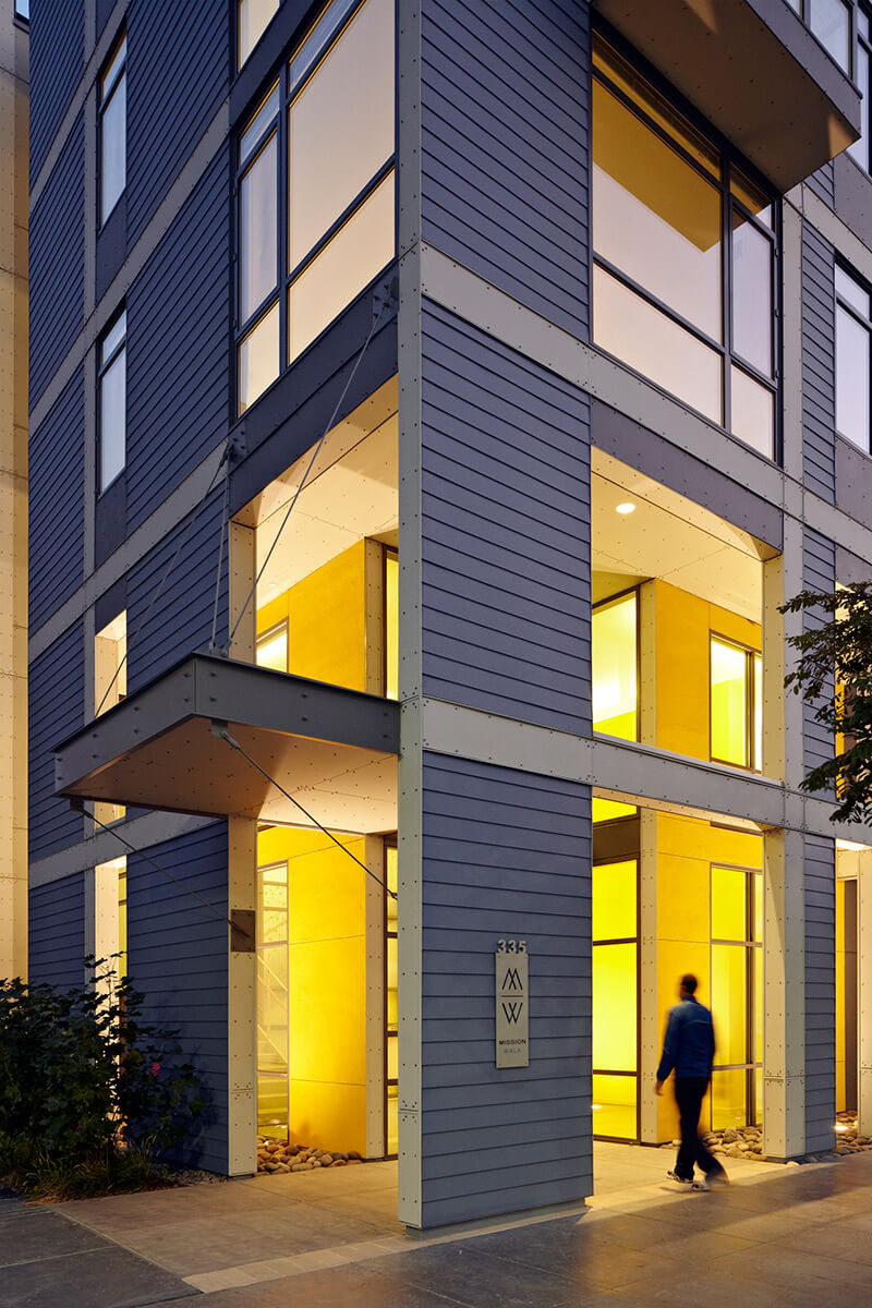 studio vara multifamily mission walk exterior
