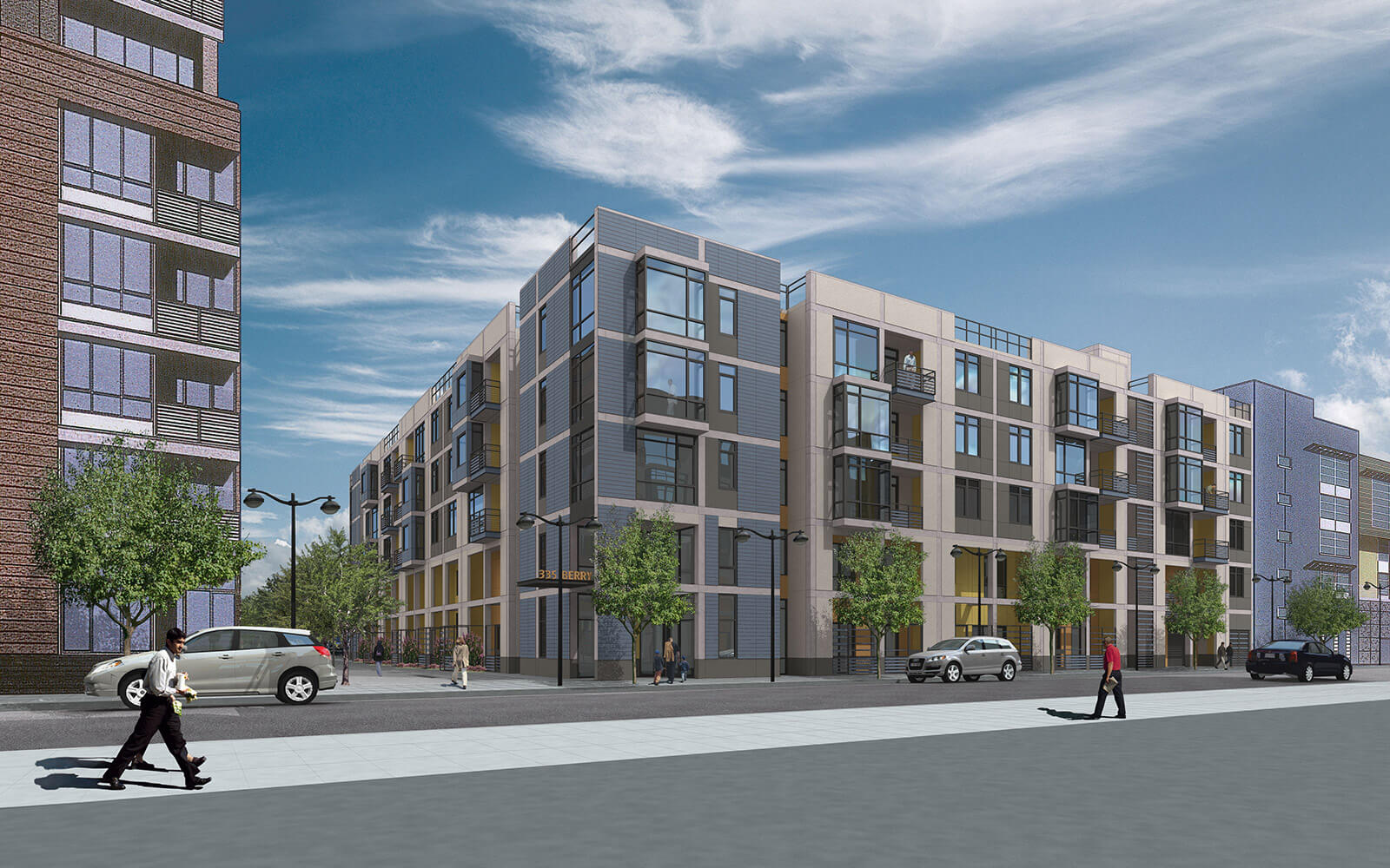 studio vara multifamily mission walk drawing rendering