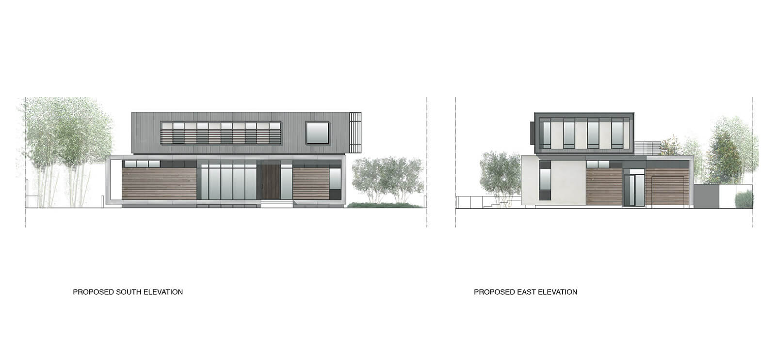 studio vara residential palo alto drawings elevation