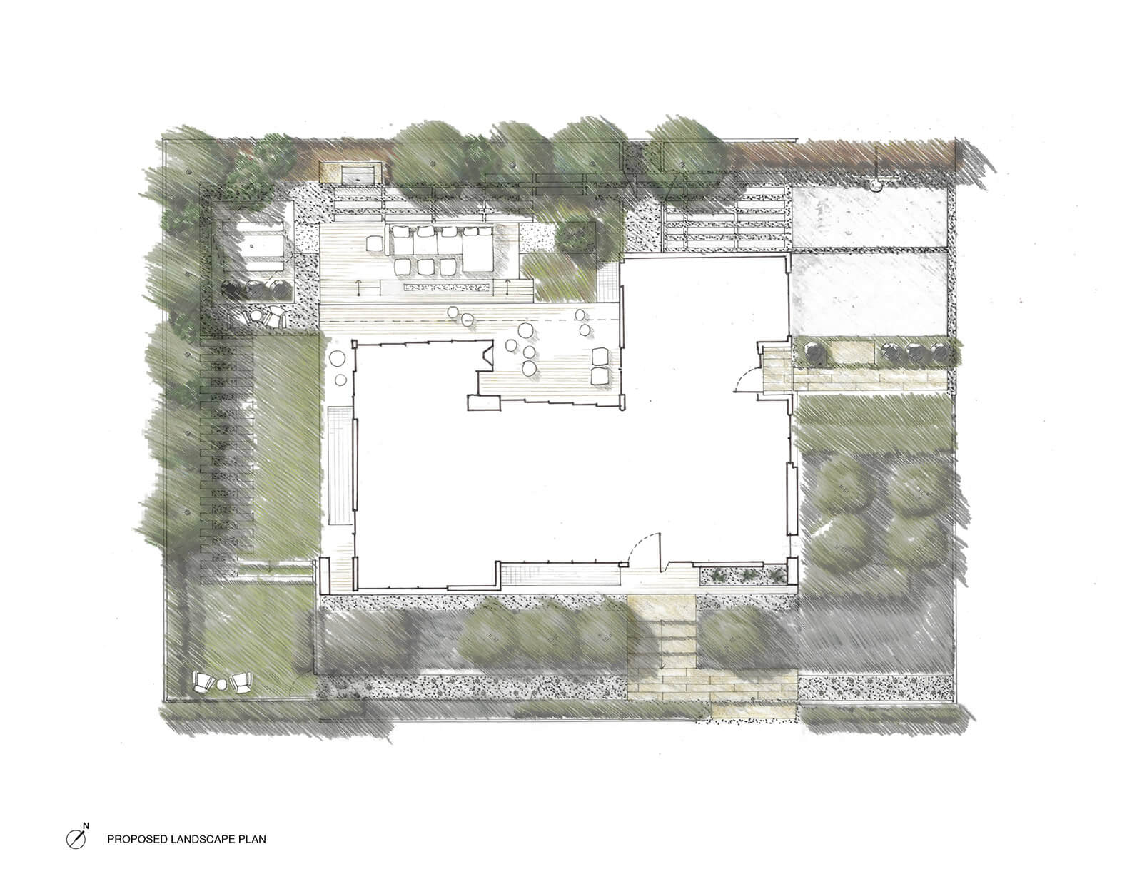 studio vara residential palo alto drawings site plan