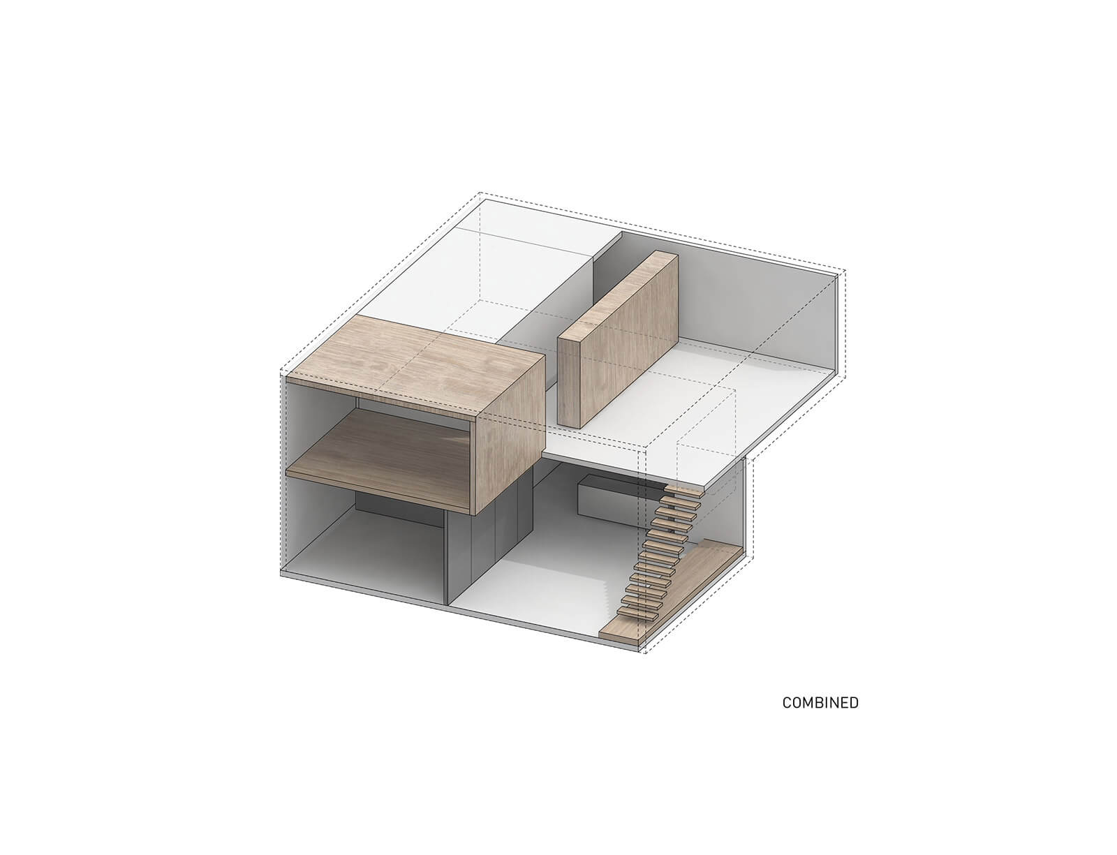 studio vara residential soma loft diagram material composition