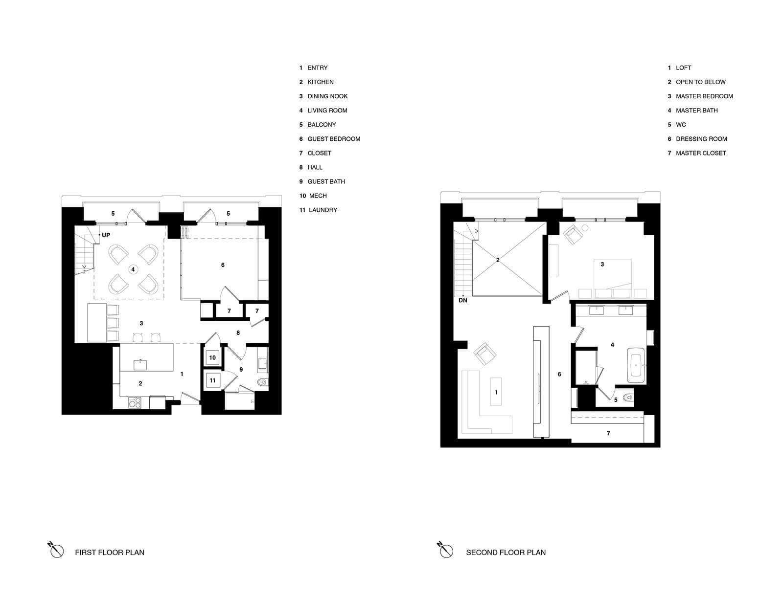 studio vara residential soma loft drawing plan
