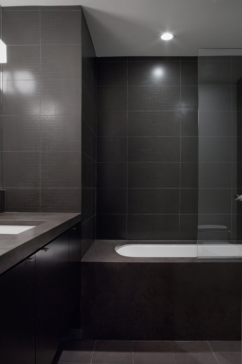 studio vara residential st. germain tile bathroom