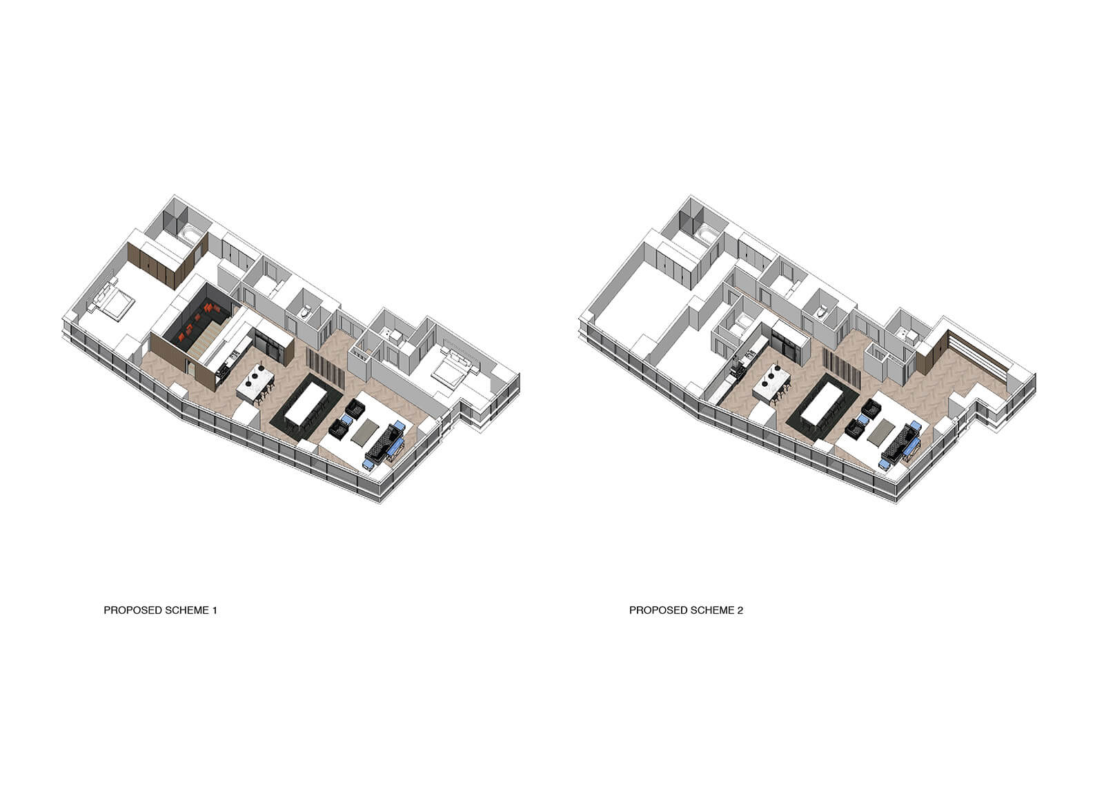 studio vara residential four seasons drawing scheme