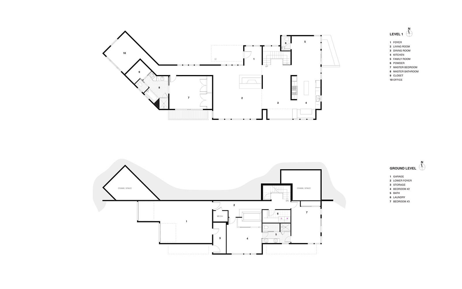 studio vara residential Kentfield drawing plan