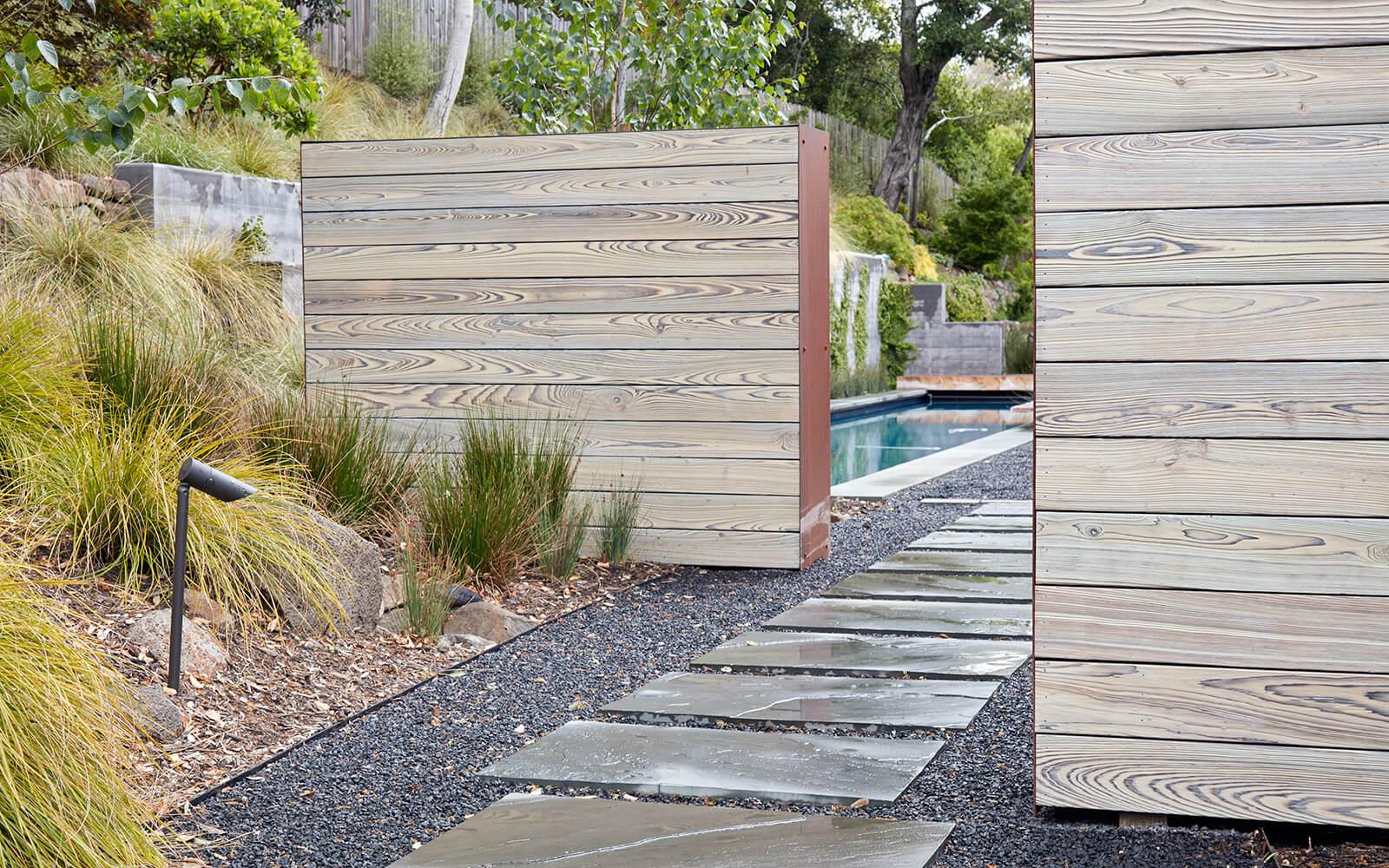 studio vara residential Kentfield landscape pathway