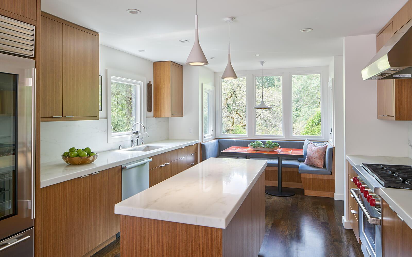 studio vara residential Kentfield kitchen cabinet