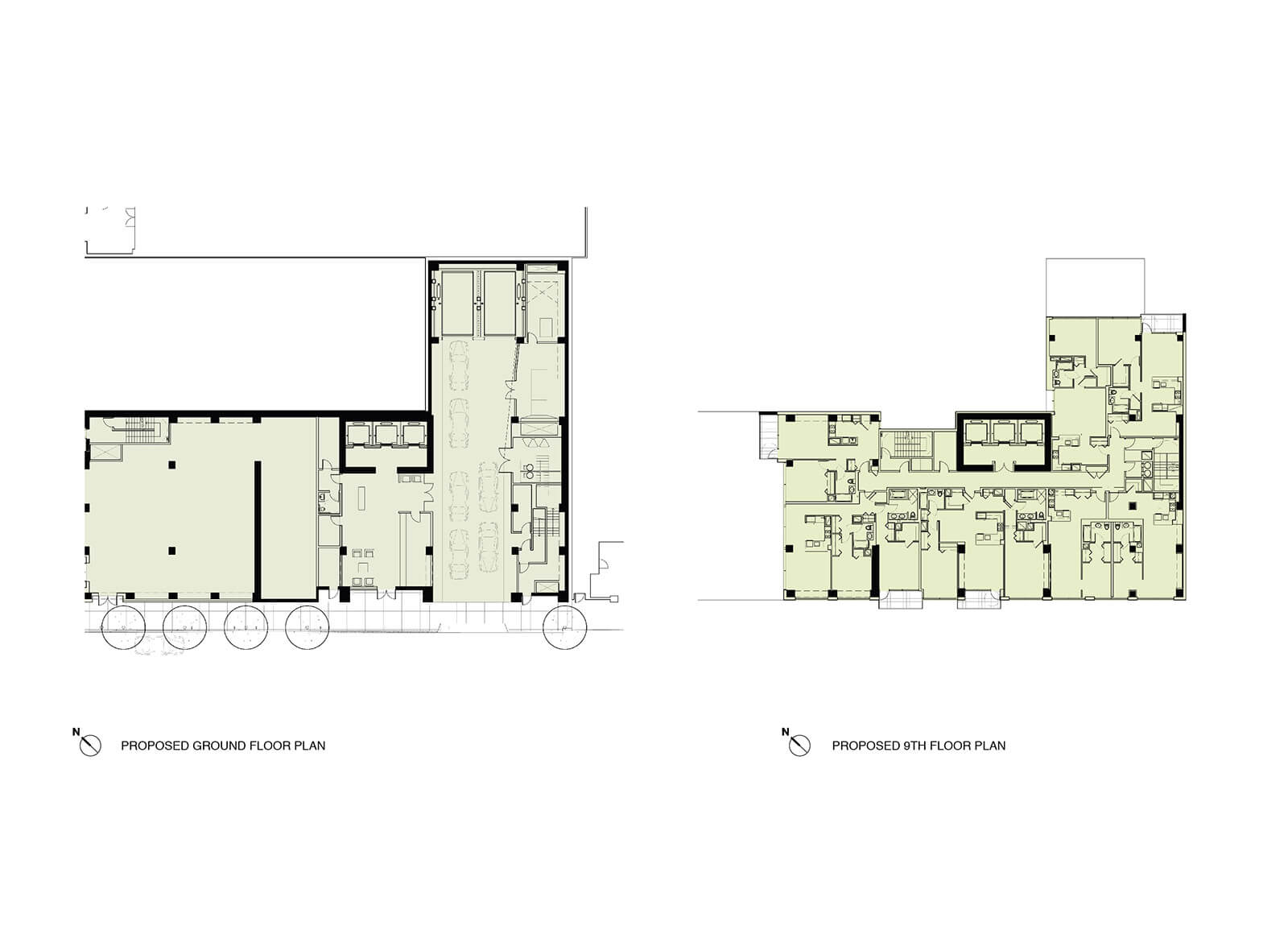 studio vara multifamily one hawthorne drawing floor plan