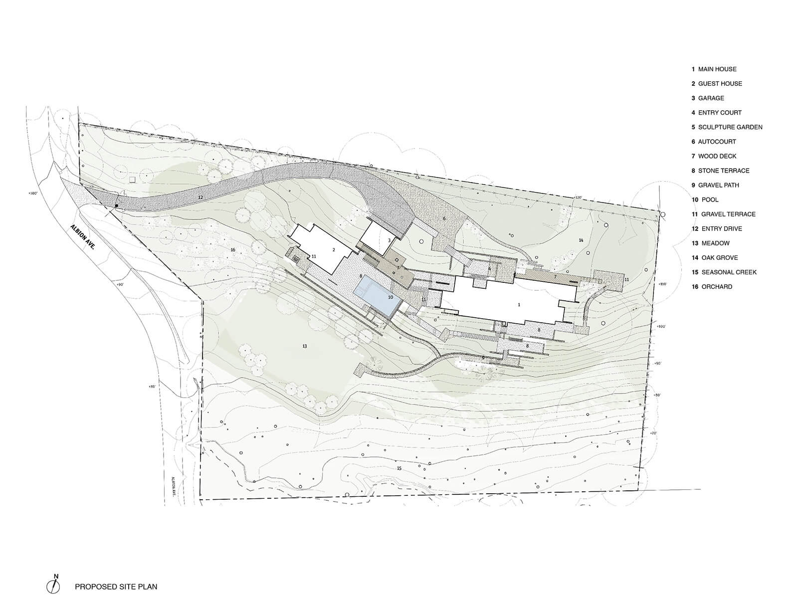 studio vara residential woodside i drawing site plan