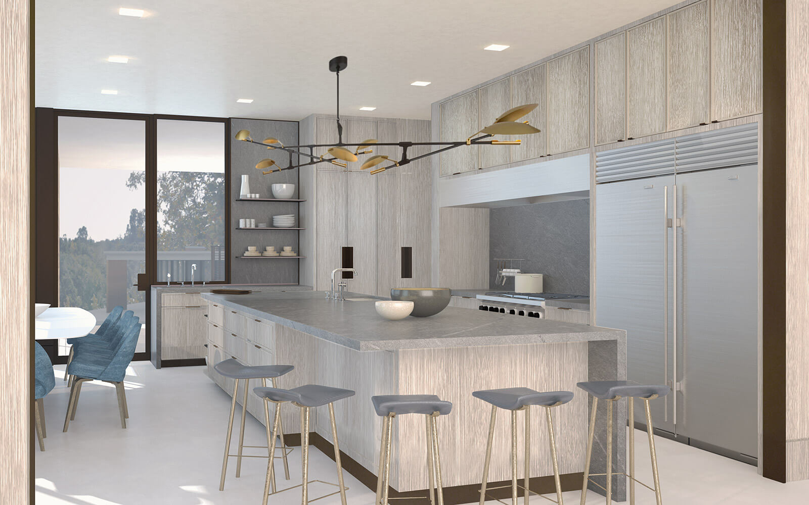 studio vara residential woodside i kitchen interior