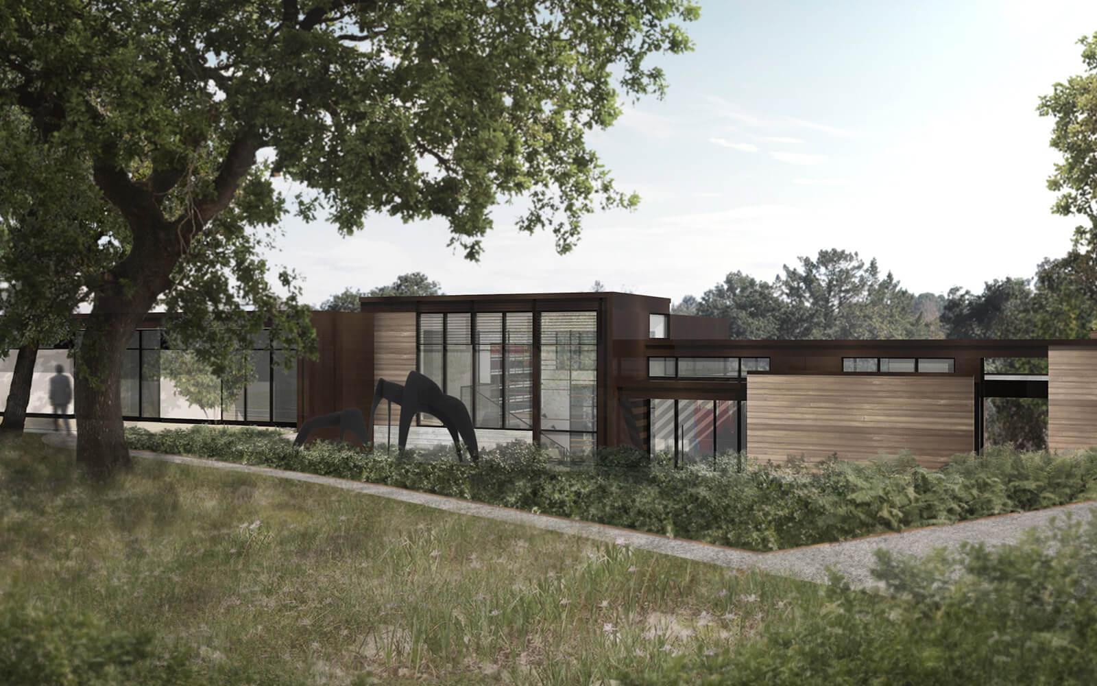 studio vara residential woodside i landscape views