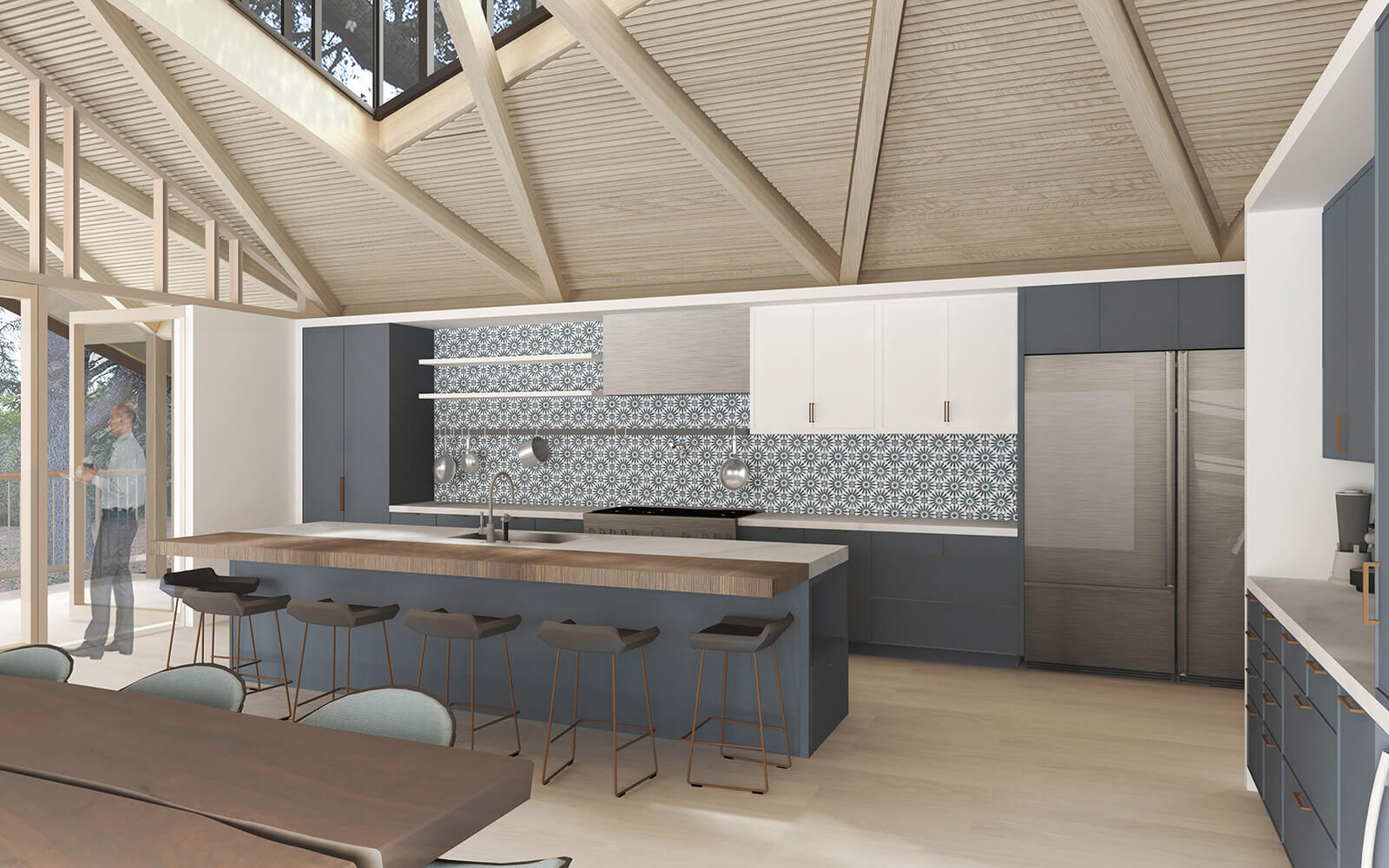 studio vara residential woodside ii kitchen pattern
