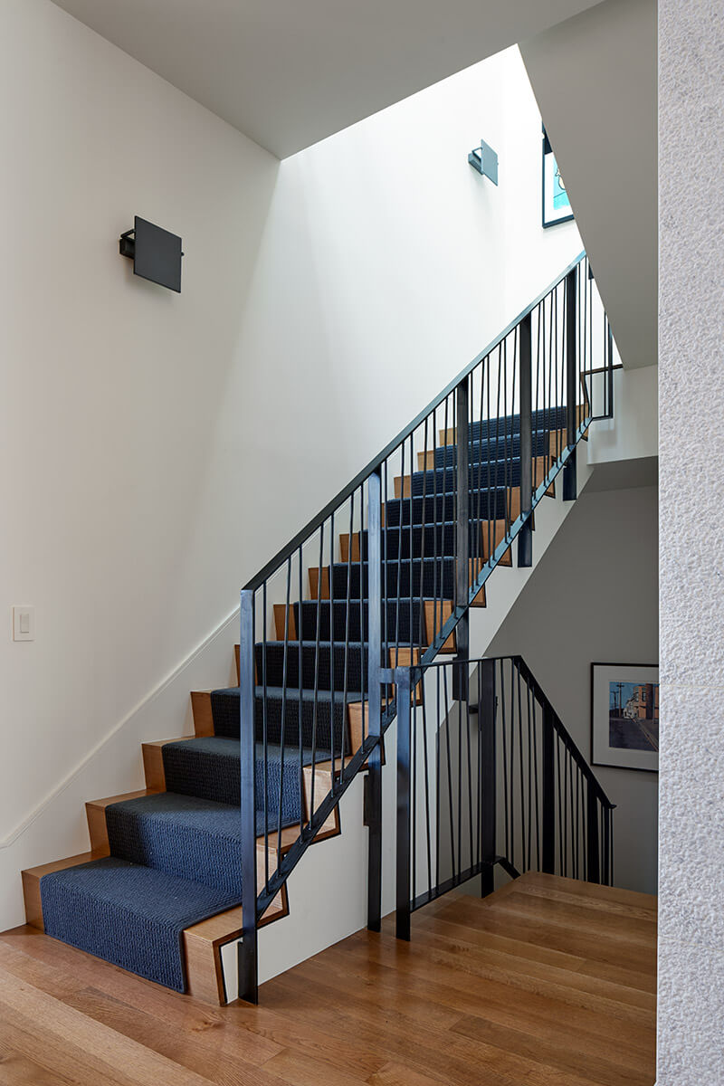 studio vara residential diamond stair railing