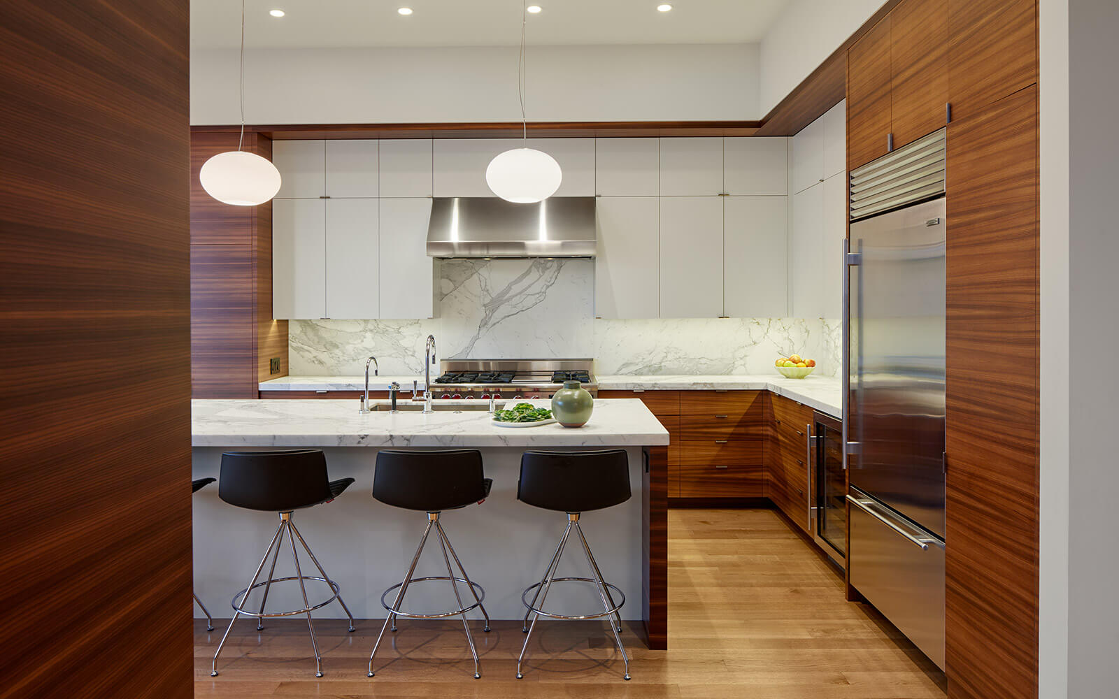 studio vara residential diamond kitchen wood cabinetry