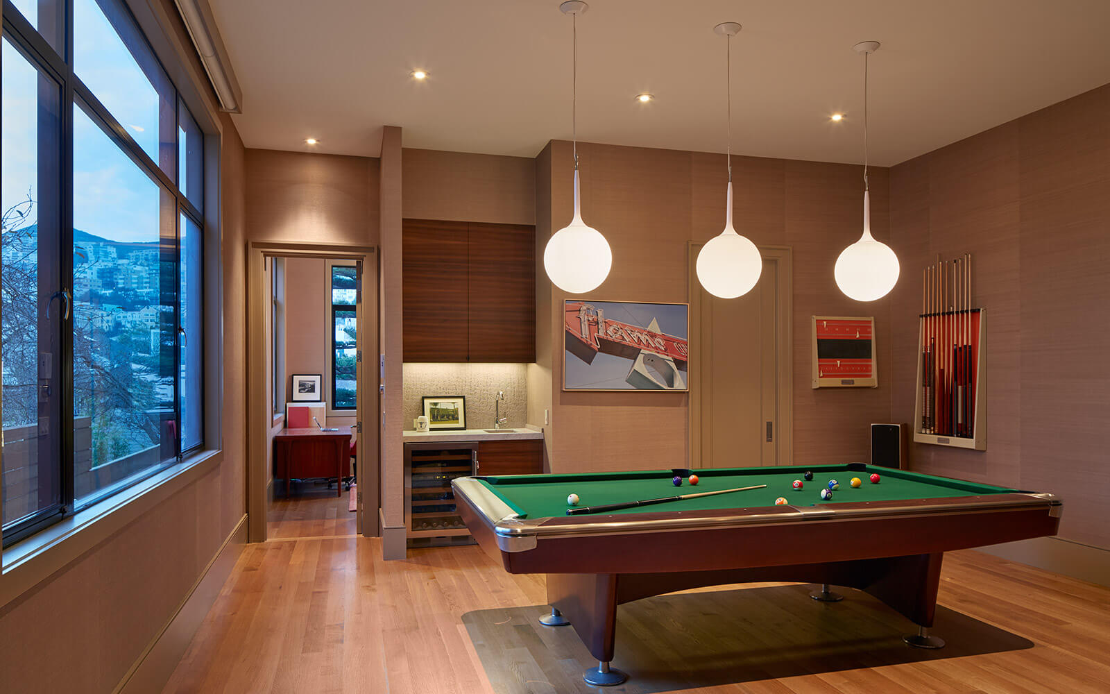 studio vara residential diamond playroom billiard pool