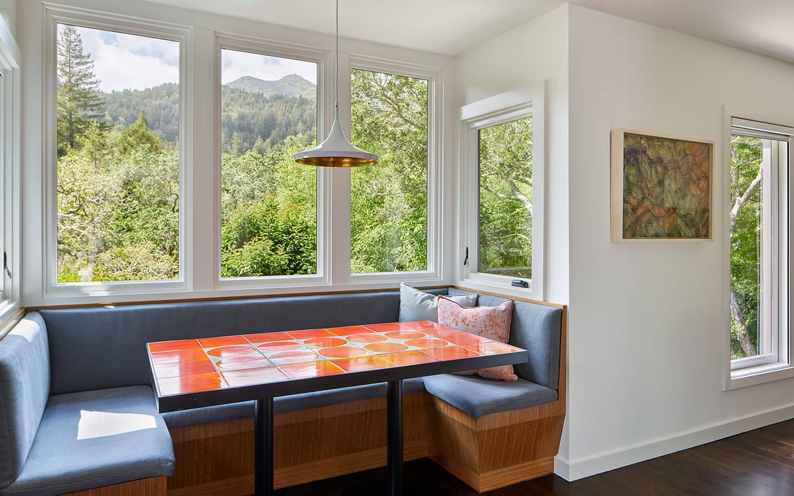 studio vara residential Kentfield dining bench