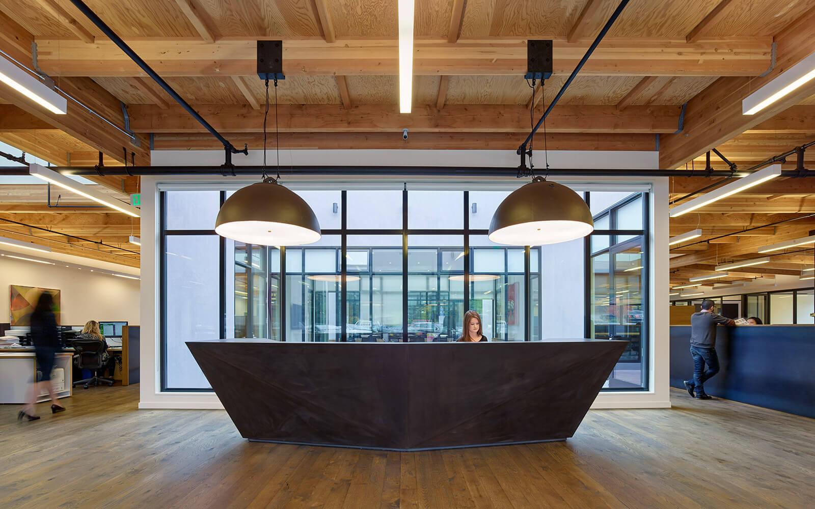 studio vara workplace redwood highway interior front desk