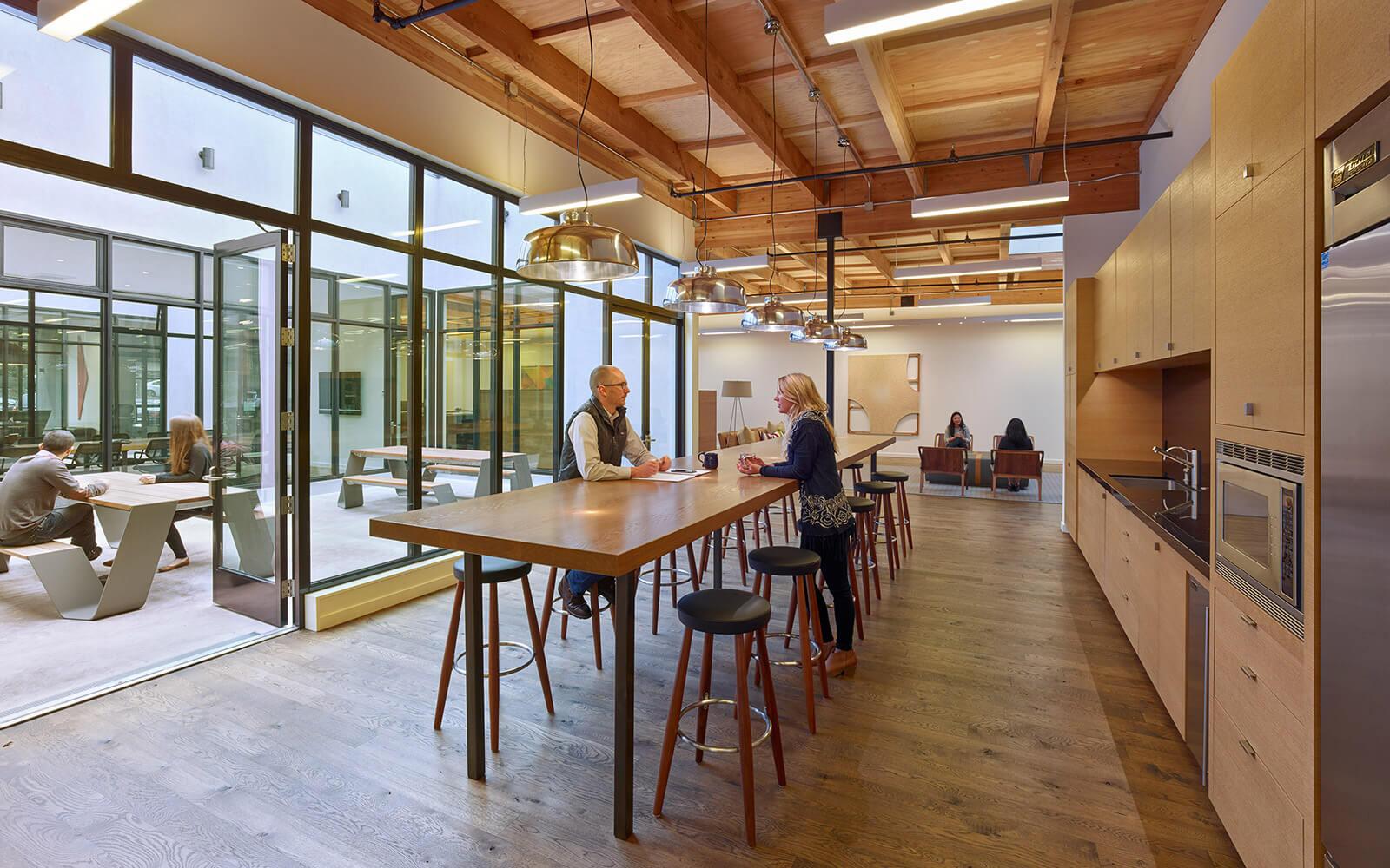 studio vara workplace redwood highway interior kitchen