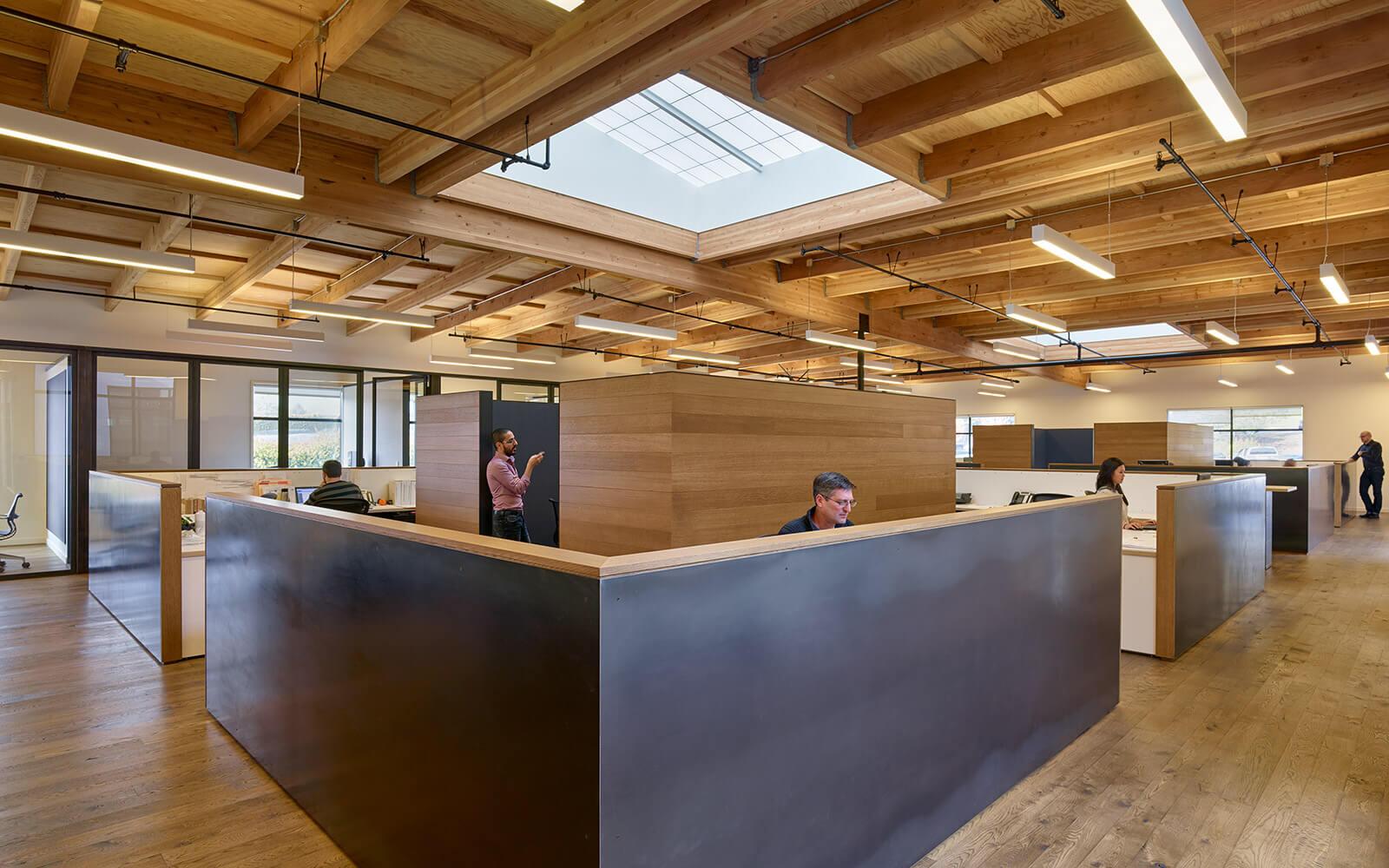 studio vara workplace redwood highway interior desks