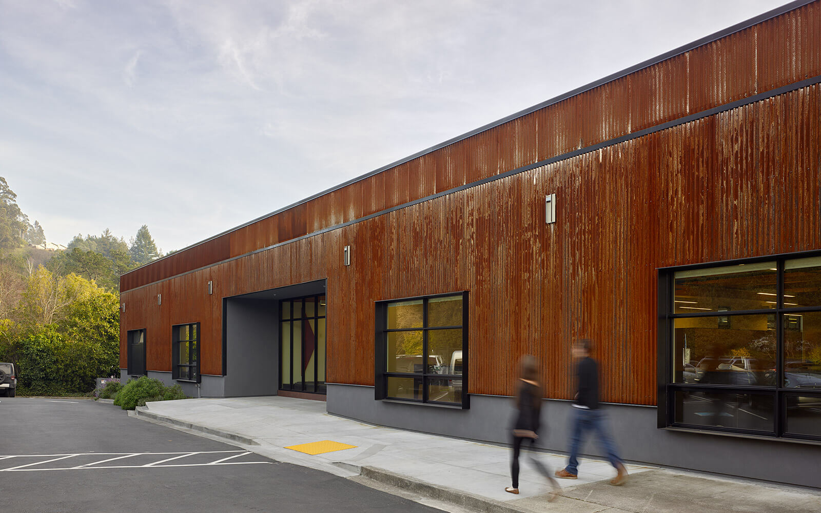 studio vara workplace redwood highway exterior entry