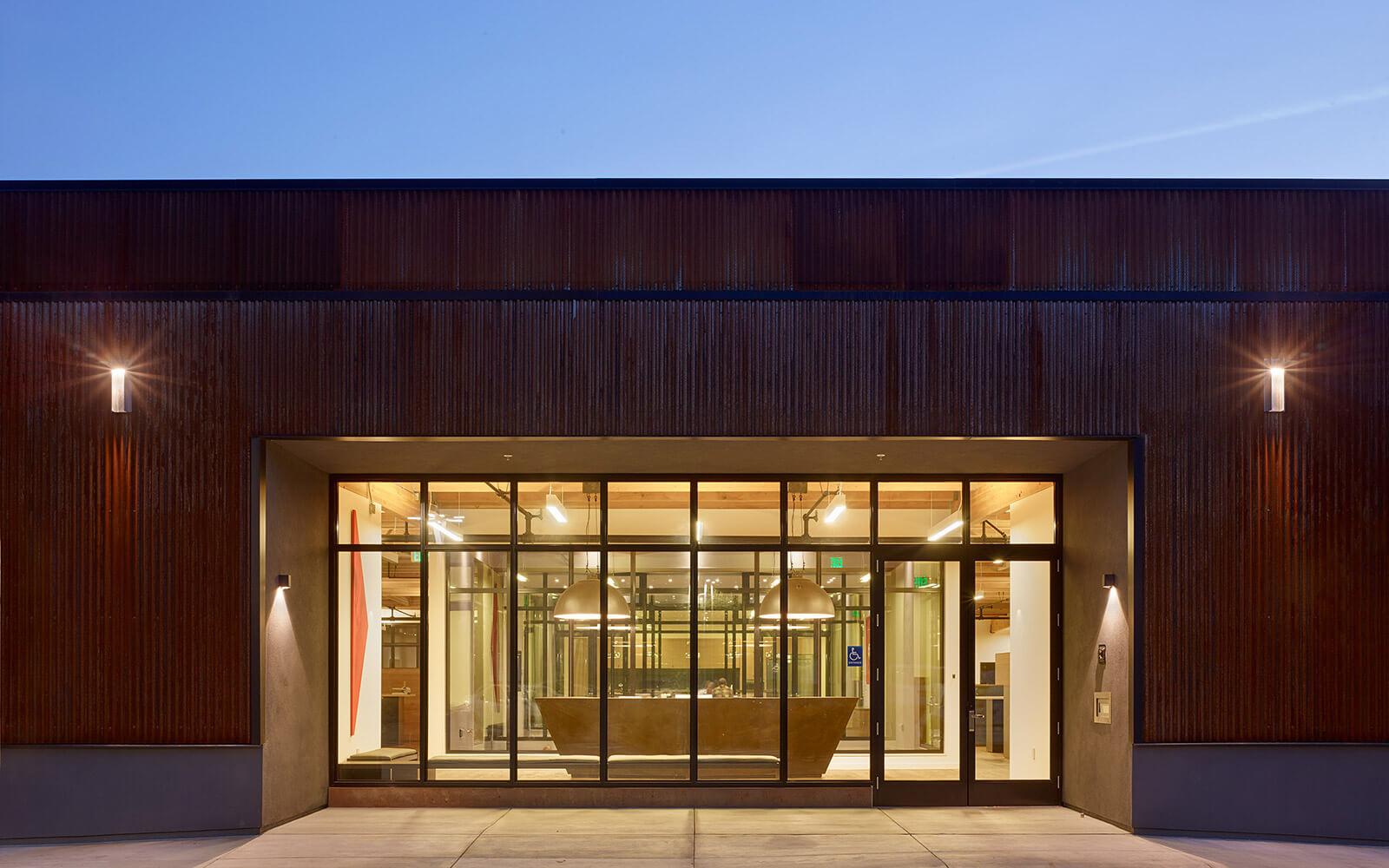 studio vara workplace redwood highway exterior front desk