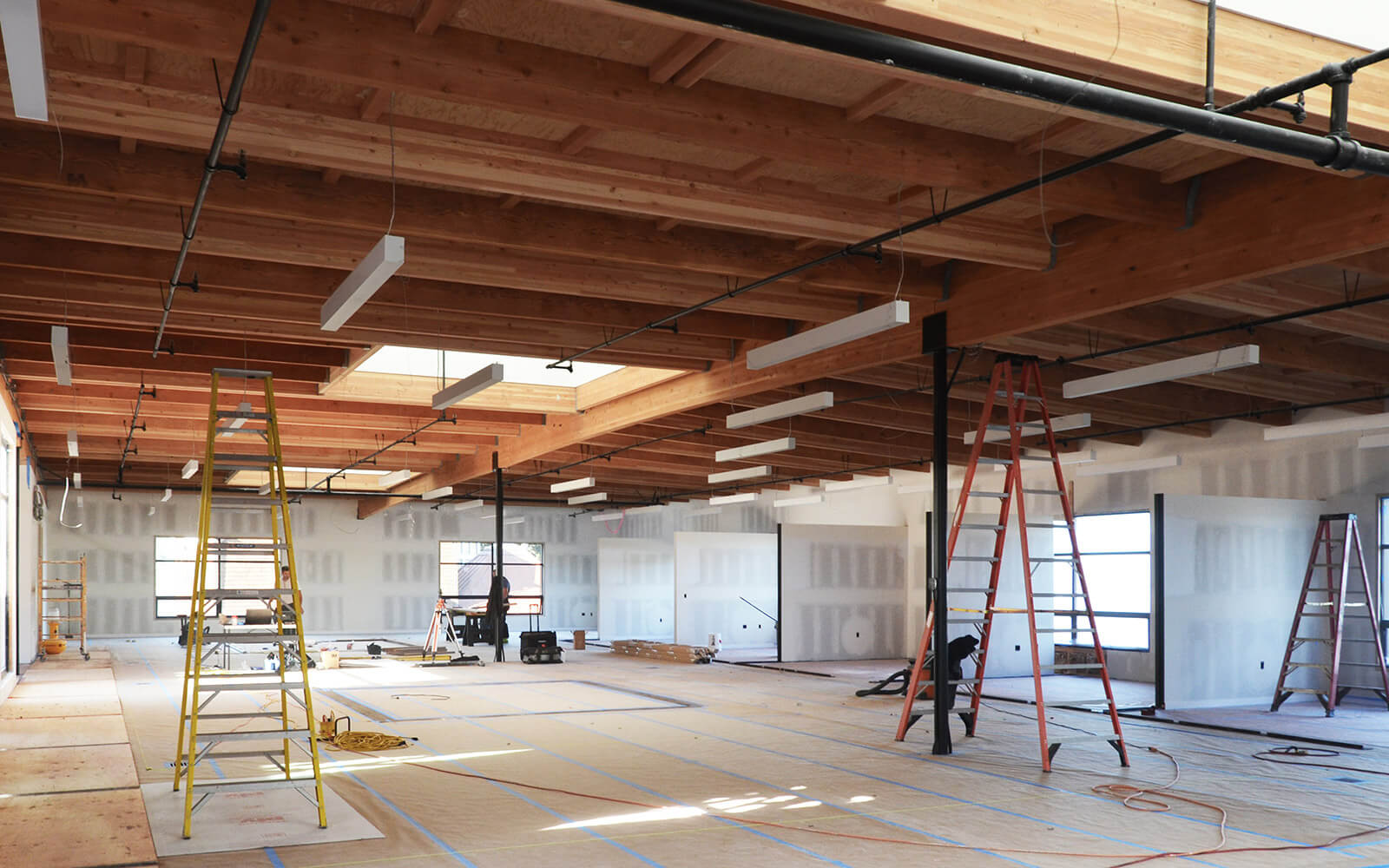 studio vara case study redwood highway interior construction