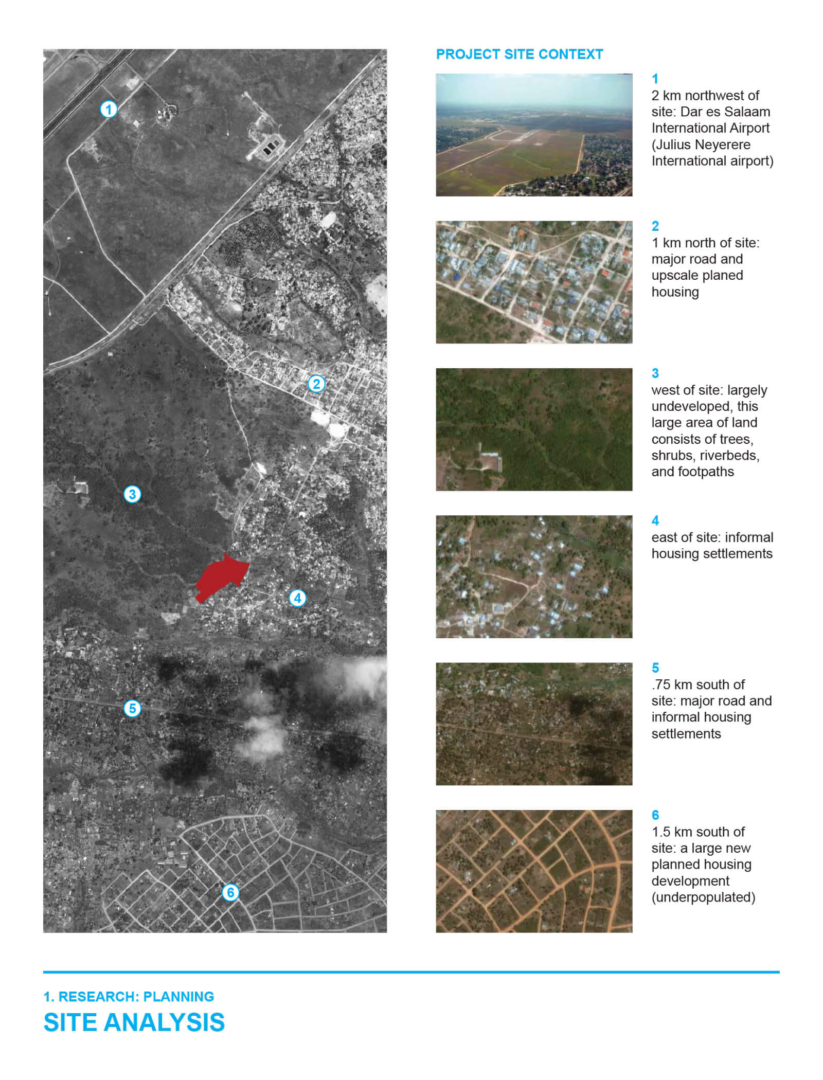 studio vara research tanzania site analysis project site context
