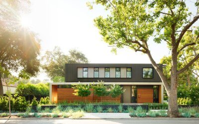 Palo Alto Residence exterior from street