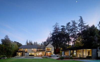 studio vara residential hillsborough back yard pool house